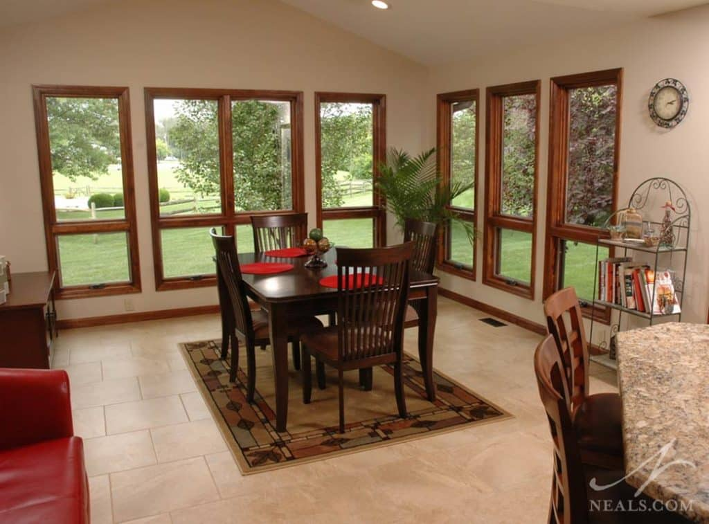 Transitional Kitchen Addition in West Chester Ohio