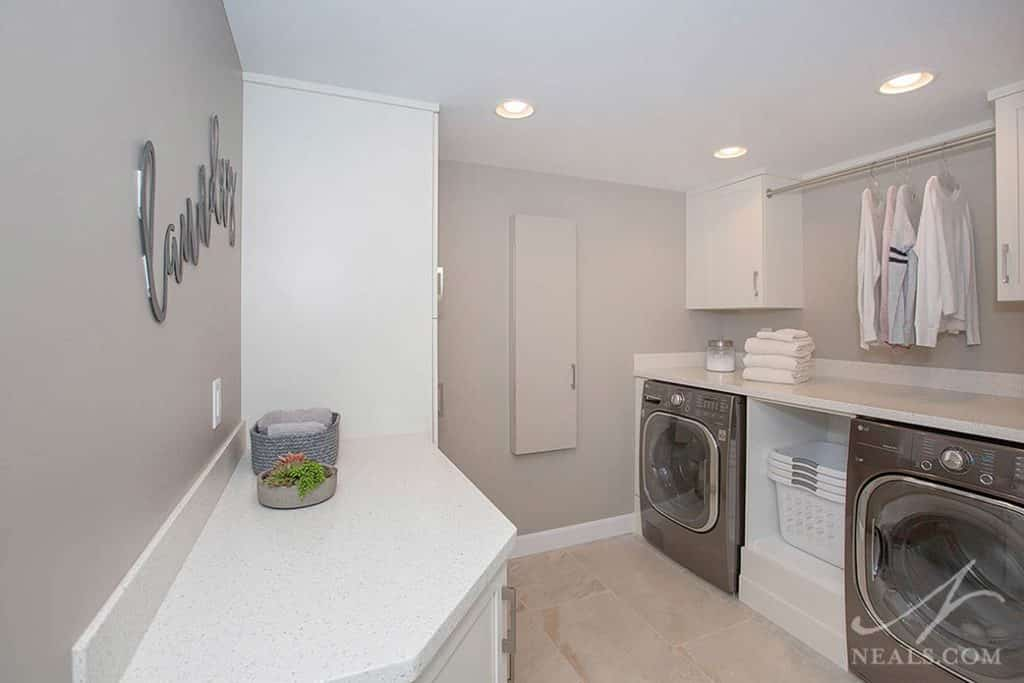 Basement Laundry Room 171 Neals Design Amp Remodel